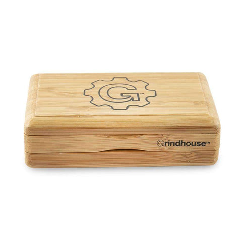 Grindhouse Sifter Box - Mini - 3 x 5 - Bamboo