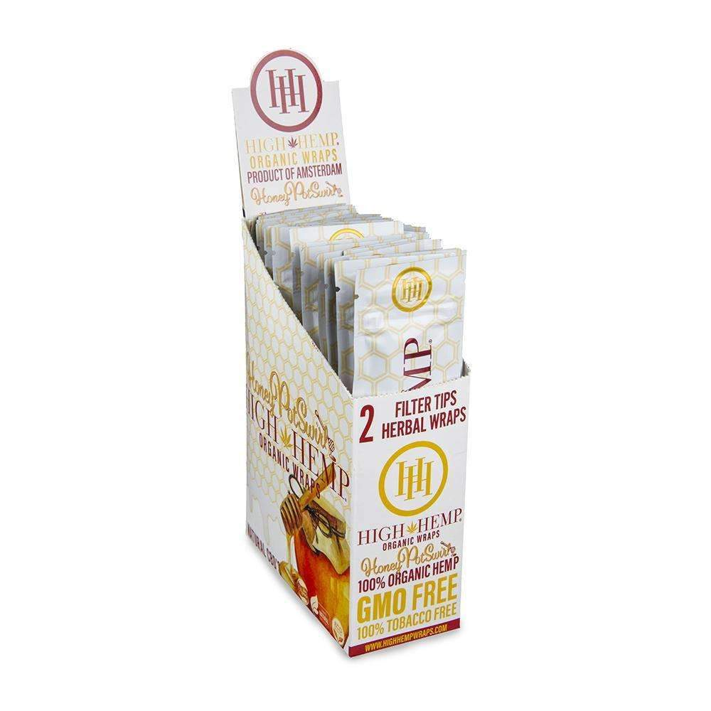 High Hemp Honey Wraps - 25ct
