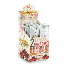 Load image into Gallery viewer, High Hemps Cones 2Pk - Blazin Cherry 15Ct Hemp Wraps