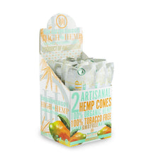 Load image into Gallery viewer, High Hemps Cones 2Pk - Maui Mango 15Ct Hemp Wraps