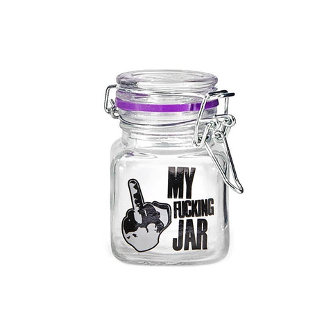 Juicy Jays Glass Jar - Clear - Small - 6ct