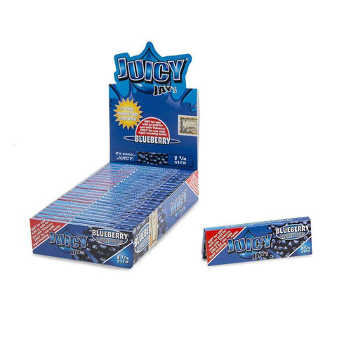 Juicy Jays Blueberry Papers 1 1/4 - 24ct