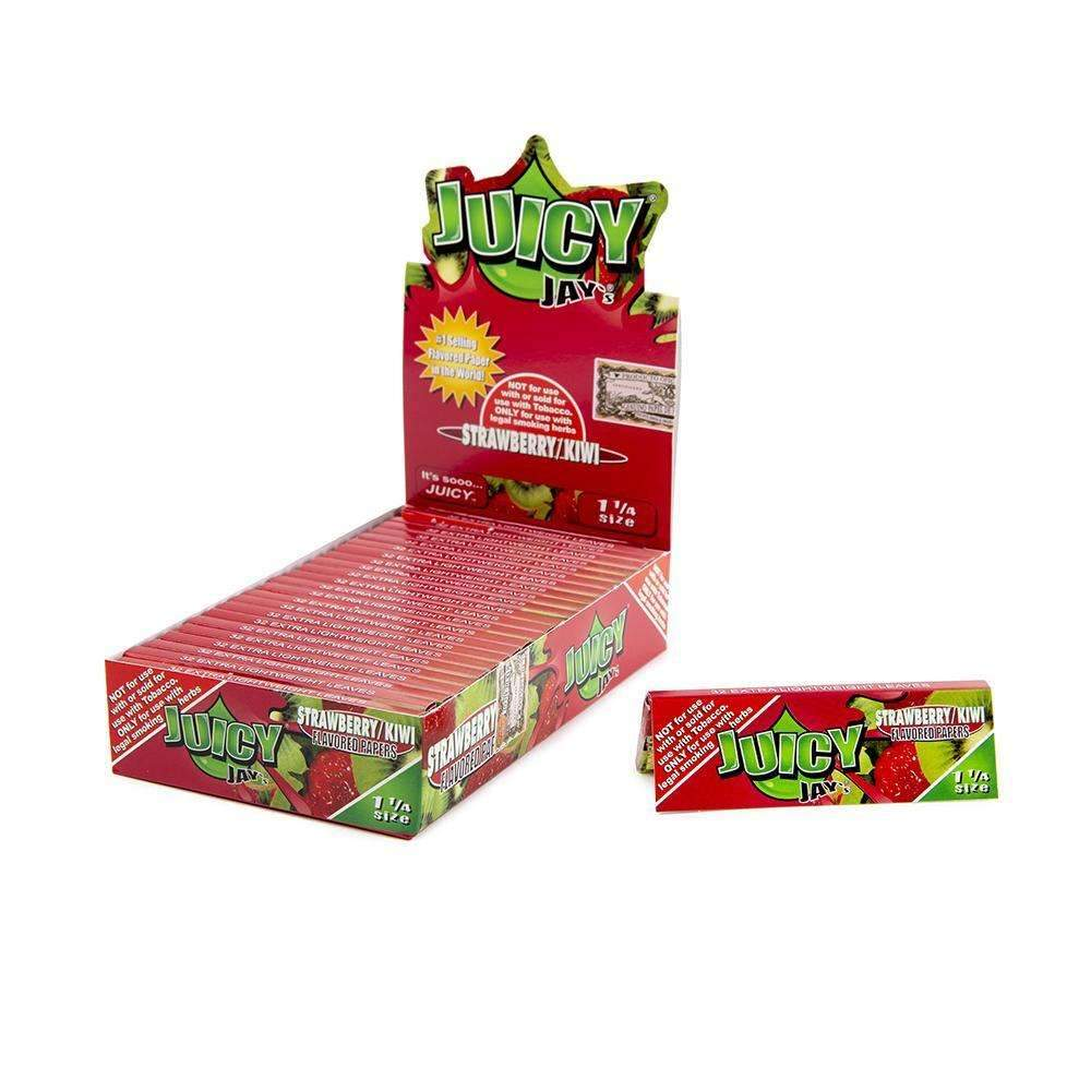 Juicy Jays Strawberry Kiwi Papers 1 1/4 - 24ct