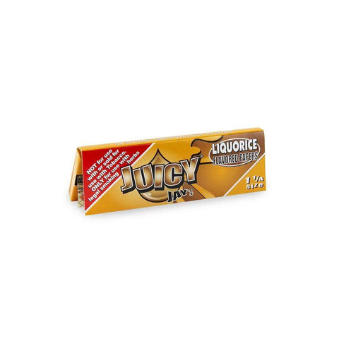 Juicy Jays Papers - 1 1/4 - Liquorice - 24ct