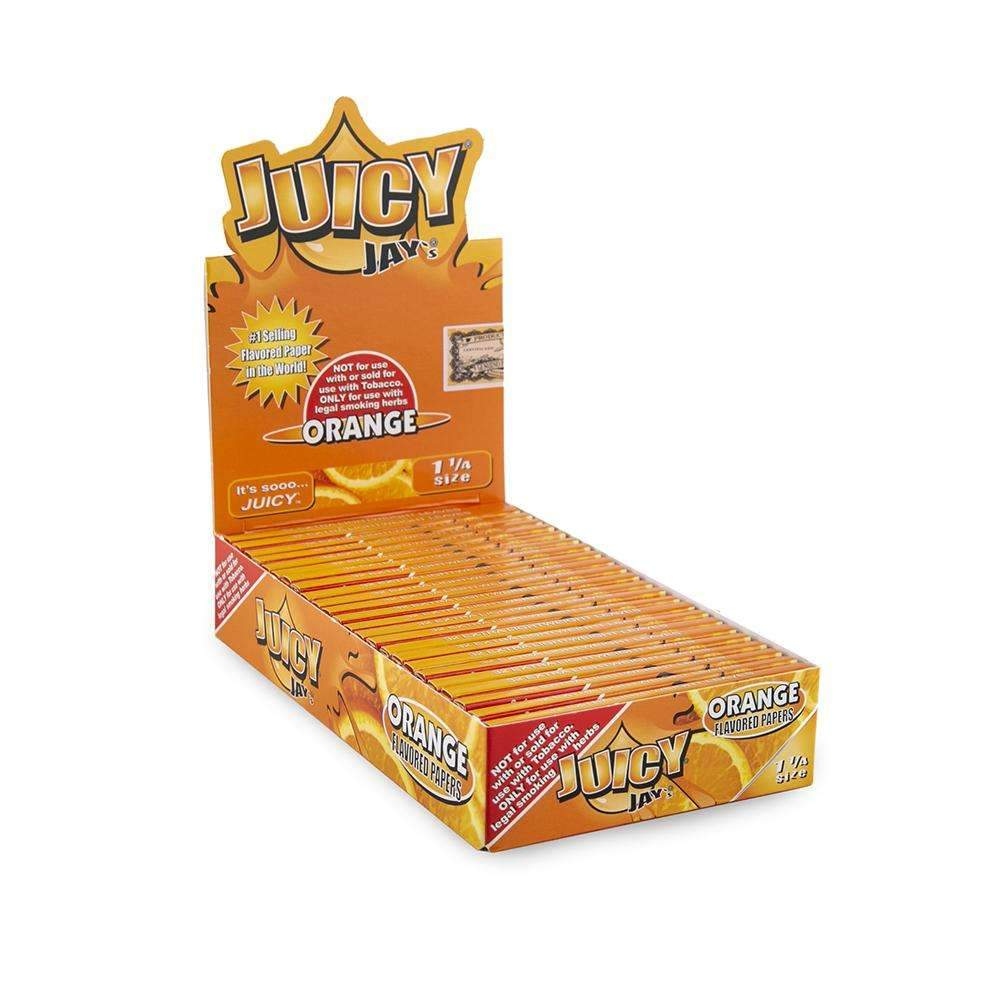 Juicy Jays Orange Papers 1 1/4 - 24ct