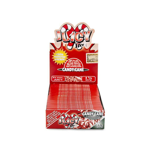 Juicy Jays Candy Cane Papers 1 1/4 - 24ct