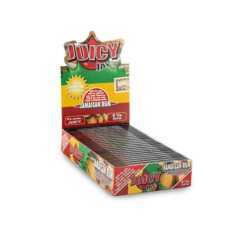 Juicy Jays Jamaican Rum Papers 1 1/4 - 24ct
