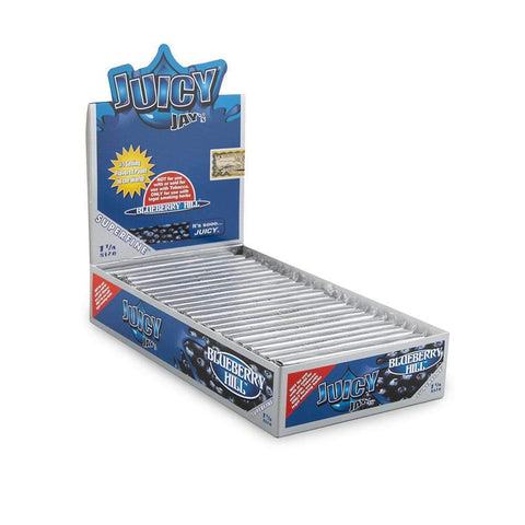 Juicy Jays Super Fine Blueberry Hill Papers 1 1/4 - 24ct