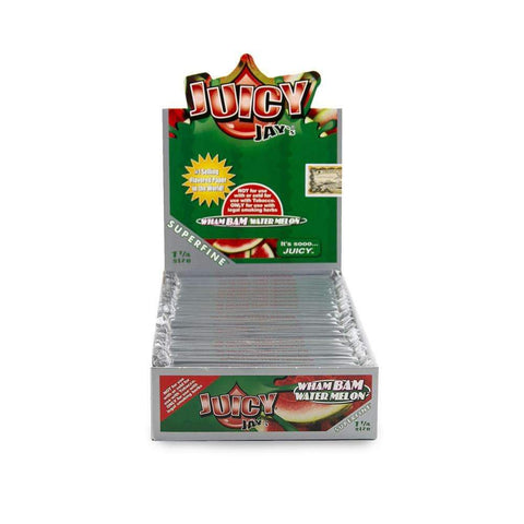 Juicy Jays Super Fine Papers - 1 1/4 - Wham Bam Watermelon - 24ct