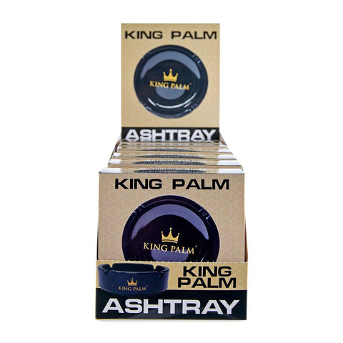 King Palm Ashtray Display - 6ct