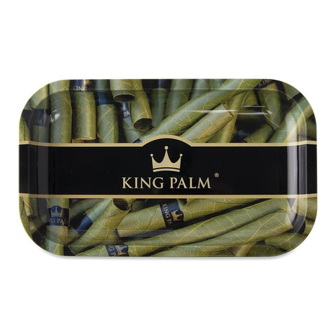 King Palm Rolling Tray - Royal