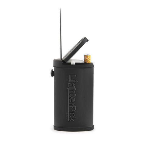 LighterPick All-In-One Waterproof Smoking Dugout - Black