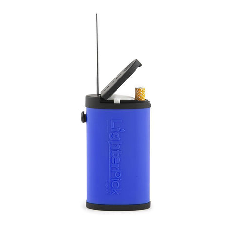 LighterPick All-In-One Waterproof Smoking Dugout - Blue