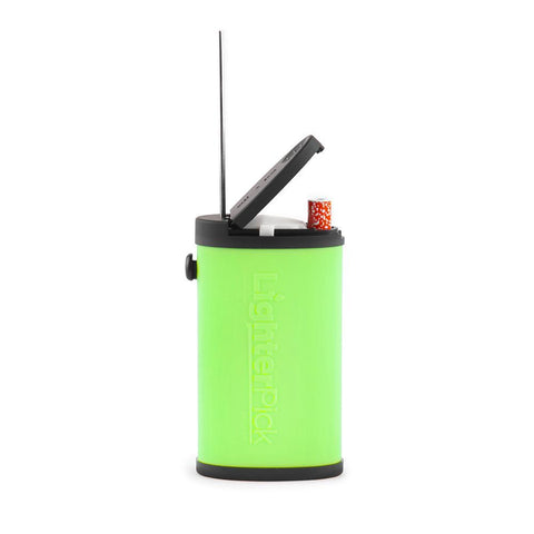 LighterPick All-In-One Waterproof Smoking Dugout - Green