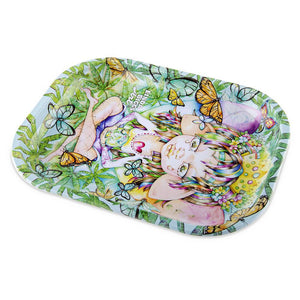 Linda Biggs Rolling Tray - Always Small Trays