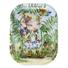 Load image into Gallery viewer, Linda Biggs Rolling Tray - Elf Girl Small Trays
