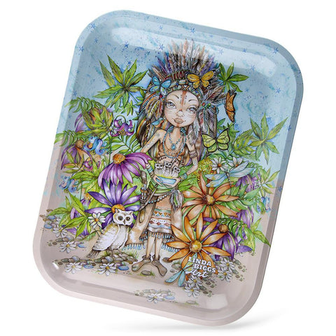 Linda Biggs Rolling Tray - Indian Giver - Large