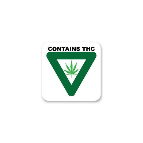 Michigan THC Label - 1,000ct