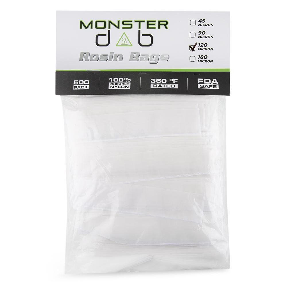 Monster Dab Rosin Bag - 120 Micron - 2 x 10 - 500ct