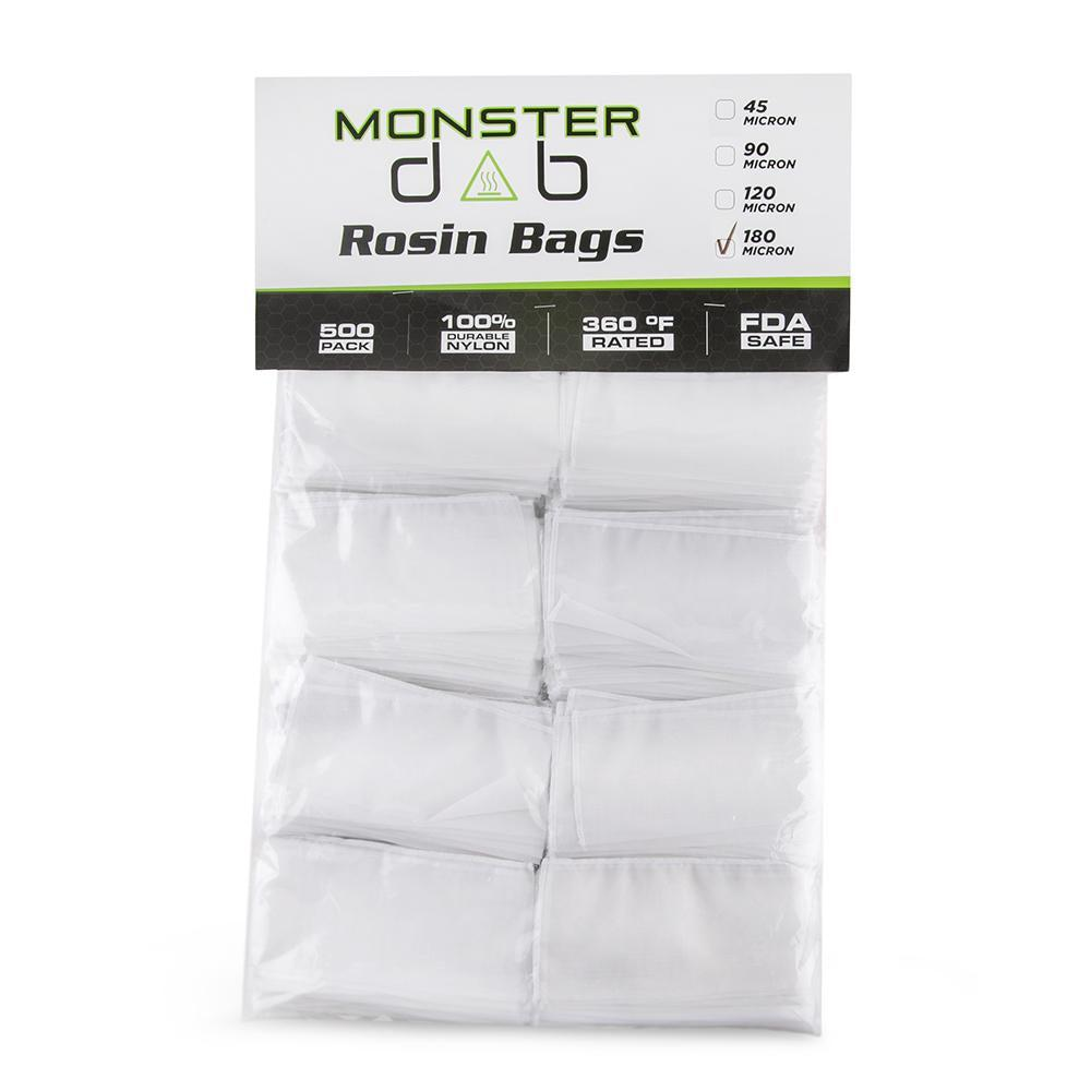 Monster Dab Rosin Bag - 180 Micron - 3 x 6 - 500ct