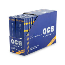 Load image into Gallery viewer, Ocb Ultimate - King Size Slim + Tips 32Ct Rolling Papers