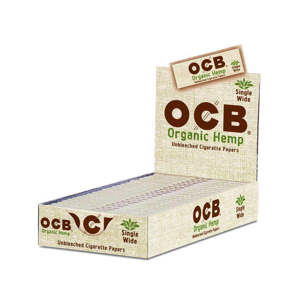 Ocb Organic Hemp Single Wide 24S Wraps