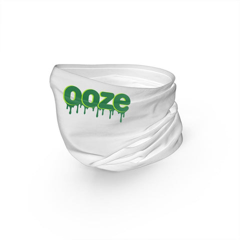 Ooze Face Mask - Ooze Logo - White