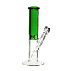 "Pure Glass - 12"" Insight 3D Straight - Clear & Green"