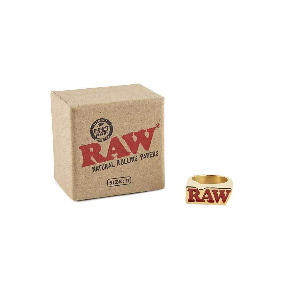 RAW Smoke Ring Gold - Size 9