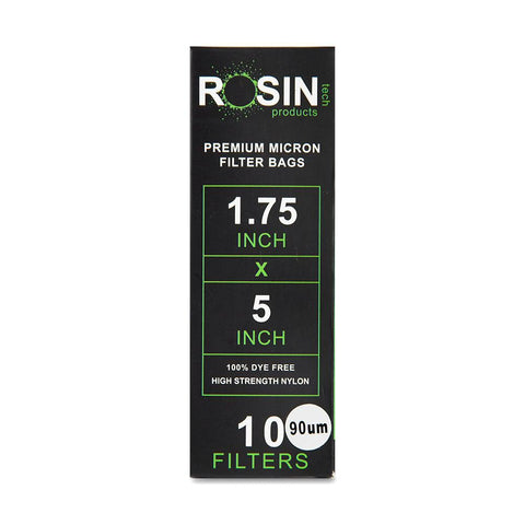 "RTP Rosin Filter Bags - 1.75"" x 5"" - 90 Micron - 10ct"