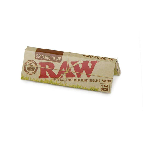 Raw Organic Hemp 1 1/4 - 24ct
