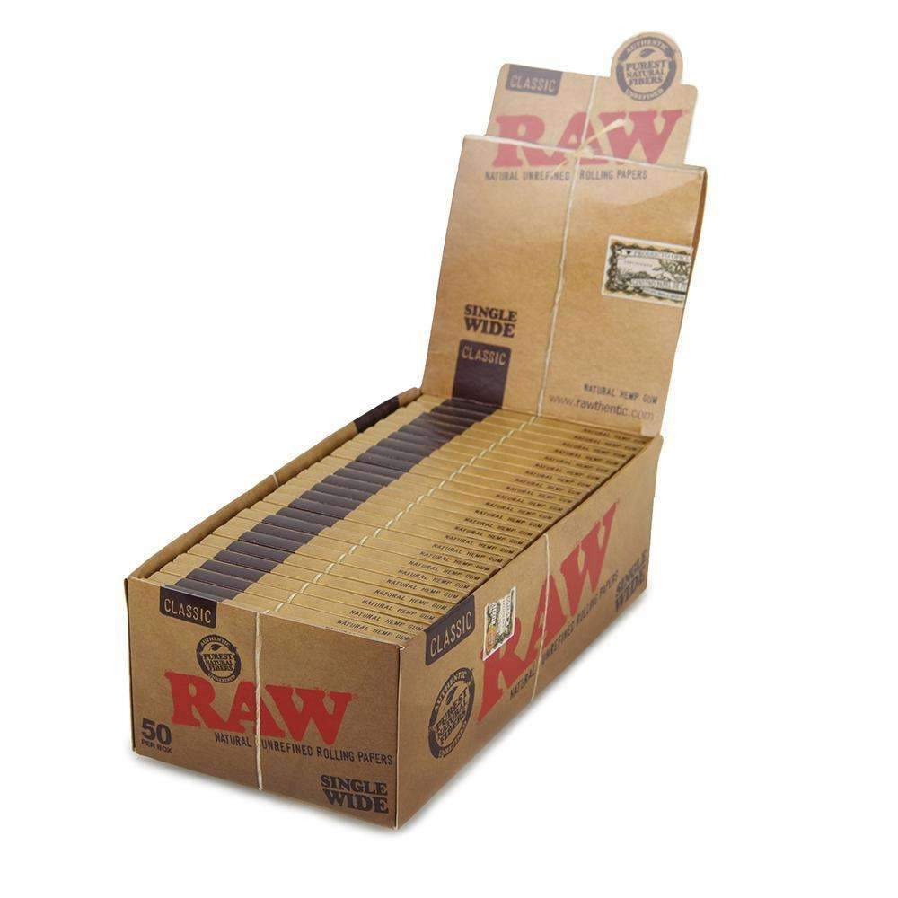 RAW Classic Single Wide Double Pack - 50ct