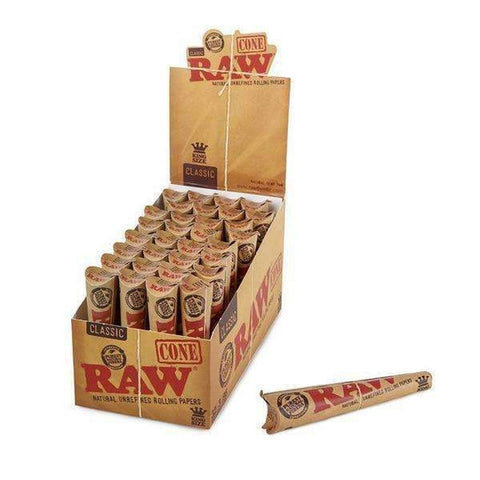 RAW Classic King Size Cones - 3pk - 32ct