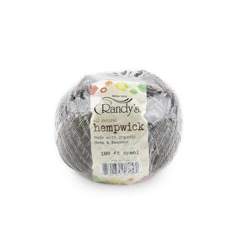 Randy's Hemp Wick - Large 100' - 6ct
