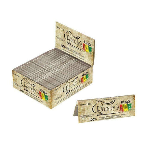 Randy's Roots Hemp Papers King Size - 25ct