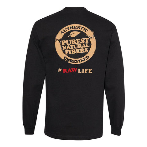 Raw Long Sleeve T-Shirt