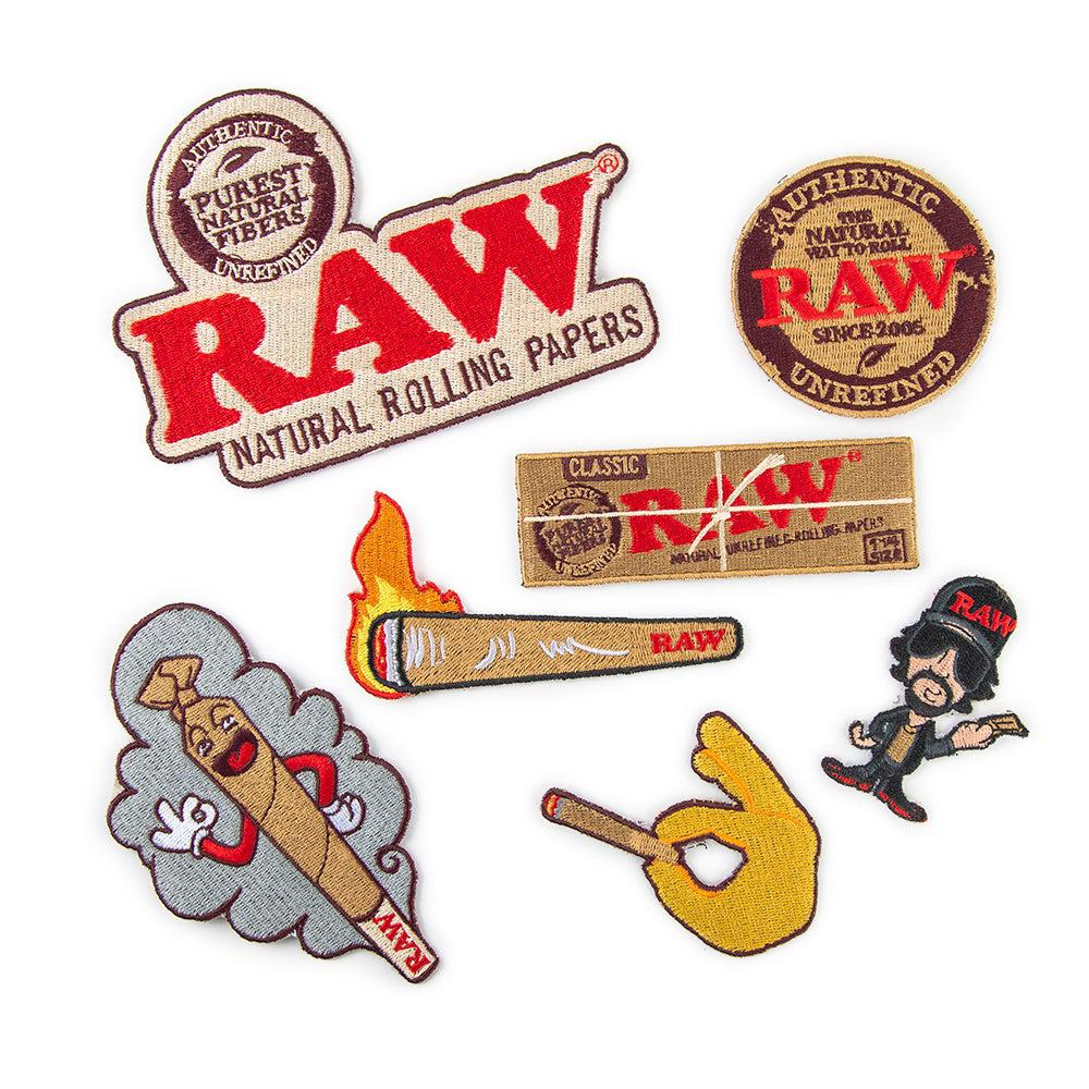 Raw Patches - Assorted - 7ct