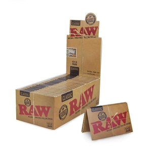 Raw Classic 1 1/2 - 25Ct Rolling Papers