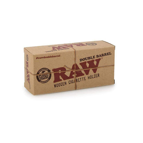 RAW Double Barrel Cigarette Holder - King Size