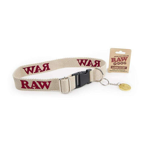"RAW Pet Collar Large 15""-26"""