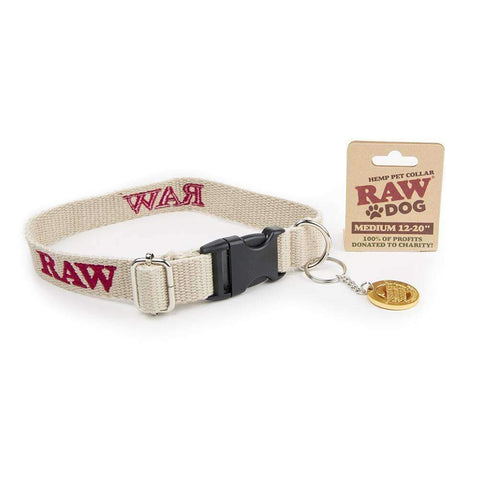 "RAW Pet Collar Medium 12""-20"""