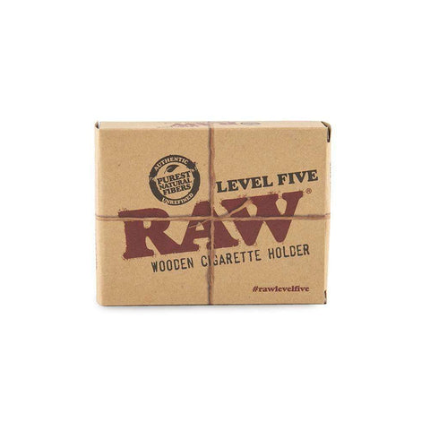 Raw Level Five Wooden Cigarette Holder