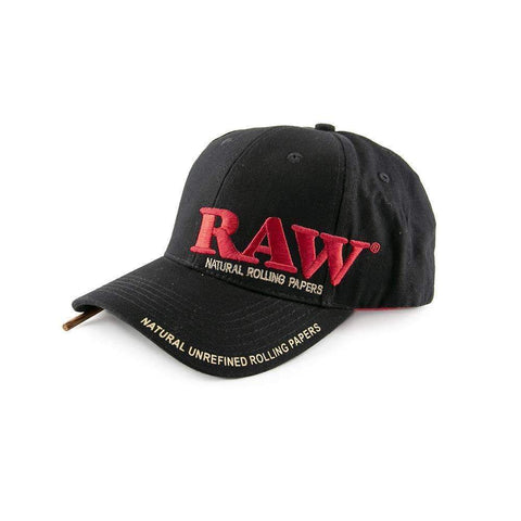 RAW Poker Hat - Black