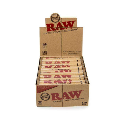 RAW Rolling Machine King Size- 110mm - 12ct