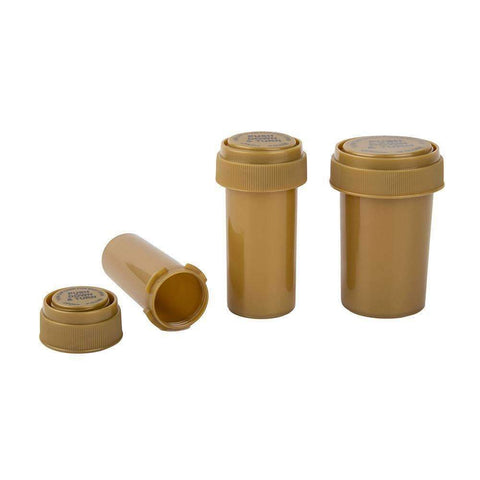 Loud Lock Gold Reversible Cap Vials