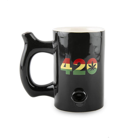 Roast and Toast Ceramic Mug - 420 Rasta - Large
