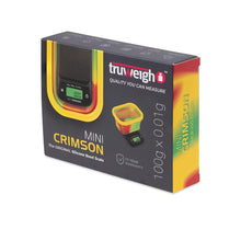 Load image into Gallery viewer, Truweigh Mini Crimson Collapsible Bowl 100G X 0.01G