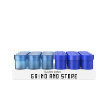Load image into Gallery viewer, White Rhino Grind N Store - Blue - 24ct