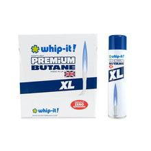 Load image into Gallery viewer, Whip It Premium North Sea Butane - XL - 540ml - 12ct