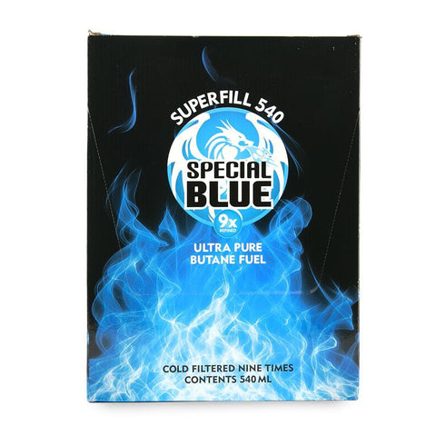 Special Blue Butane - 9x Refined - 540ml - 12ct